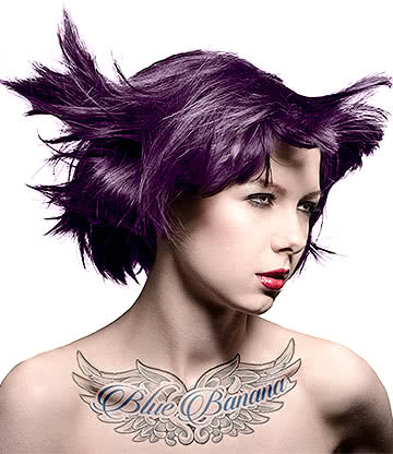 Manic Panic Amplified Semi-Permanent Hair Dye 118ml (Deep Purple Dream)