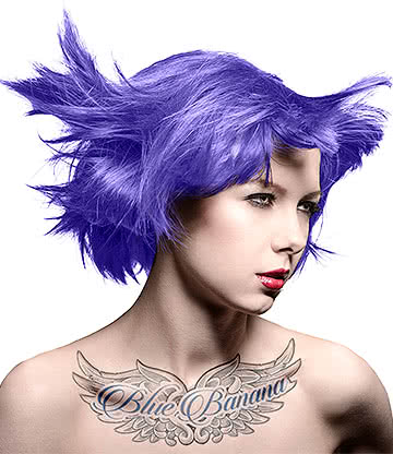 Manic Panic High Voltage Classic Cream Formula Colour Hair Dye 118ml (Electric Amethyst)