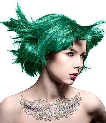 Manic Panic High Voltage Classic Cream Formula Colour Hair Dye 118ml (Green Envy)