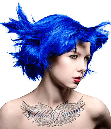 Manic Panic Amplified Semi-Permanent Hair Dye 118ml (Shocking Blue)