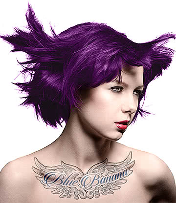 Manic Panic High Voltage Classic Cream Formula Colour Hair Dye 118ml (Violet Night)