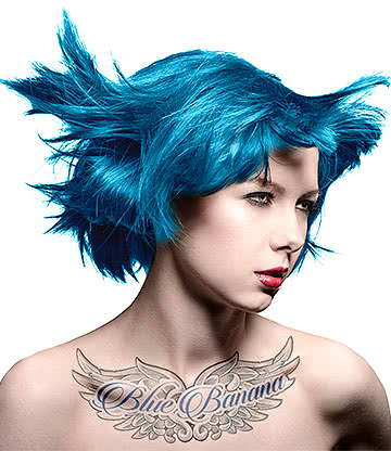 Manic Panic Amplified Semi-Permanent Hair Dye 118ml (Voodoo Blue)